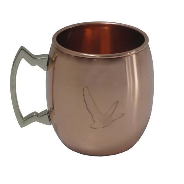 2 copper Mug